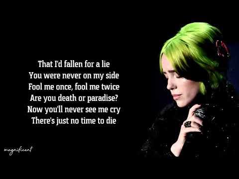 Billie Eilish - No Time To Die (Lyrics)