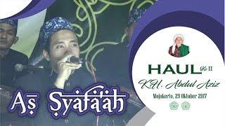 As Syafa 39 ah Ataghonna Haul KH Abdul Aziz Surodinawan Mojokerto