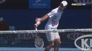 Novak Djokovic -Best Points 2012- Part 2