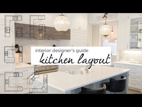 How to: Choose the Kitchen's Layout | Kitchen Layout Guide | aseelbysketchbook (kitchen talk pt. 1)