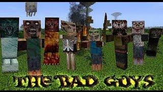 Minecraft Адские Мобы - Майнкрафт ХАРДКОРНОЕ ВЫЖИВАНИЕ c Мобами из Ада (Обзор Мода)