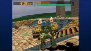 PS3版電脳戦機バーチャロンOMGの対戦動画。自機はベルグドル、対戦相手...