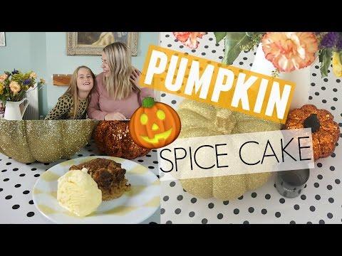 PUMPKIN SPICE CAKE RECIPE | Kate+