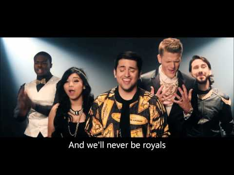 Pentatonix - Royals (HD LYRICS)