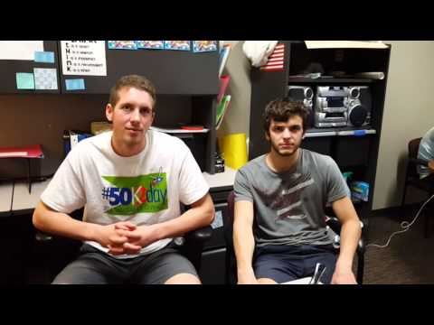 International Student Interview: Seniors Michael and Simon