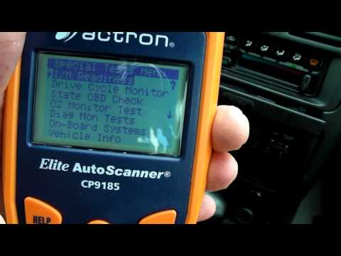 Actron CP9190 CP9185 Automotive Scan Tool Review