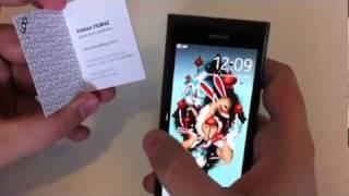 Nokia N9 - NFC demo