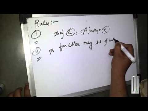 Rules of C programming Language (Hindi)Tutorial-2