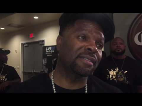 J.PRINCE REVEALS WARD DISMANTLED A HEAVYWEIGHT IN SPARRING; OPEN TO ANTHONY JOSHUA CLASH...