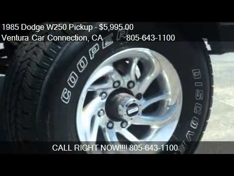 1985 Dodge W250 Pickup - for sale in Ventura, CA 93003