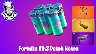 Fortnite Battle Royal Patch Notes 9.3