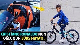 Cristiano Ronaldo'nun oğlunun Nasıl Bir Hayat Yaşadığını İzleyin.. Süper Bir Şey.
