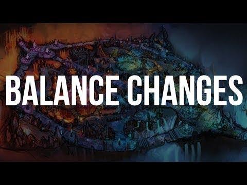 видео: [lol] Изменения баланса