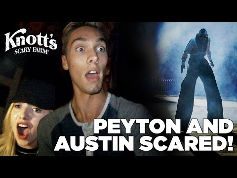 Peyton List and Austin North  Scariest Video Ever