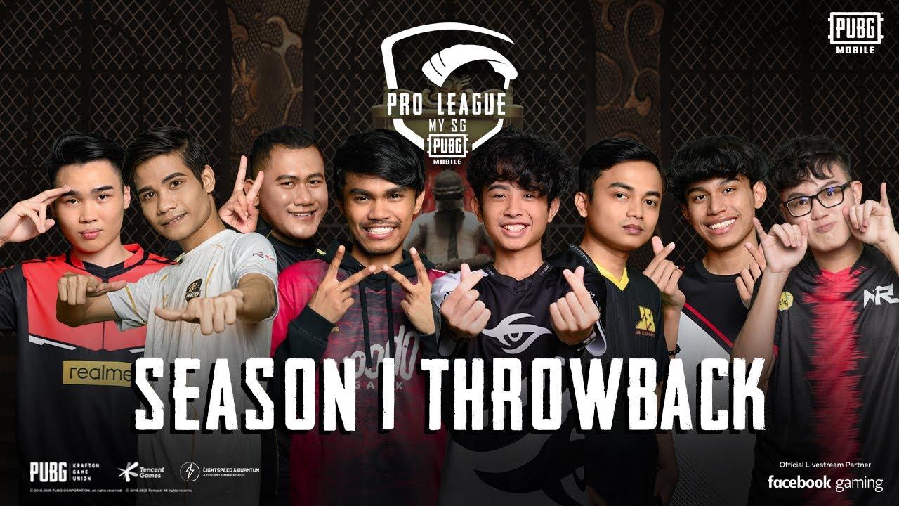 Throwback PMPL MY/SG Season 1!