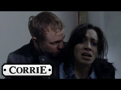 Coronation Street - Clayton Loses Control and Turns Violent
