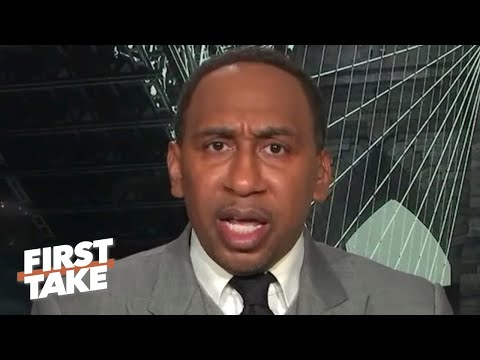 Stephen A. Reacts To The Bulls Hiring Arturas Karnisovas As VP Of Basketball Operations | First Take
