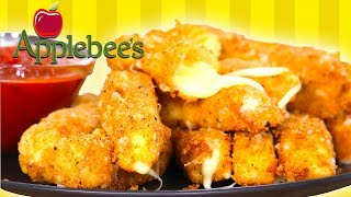 Applebees Mozzarella Sticks | Homemade Recipe