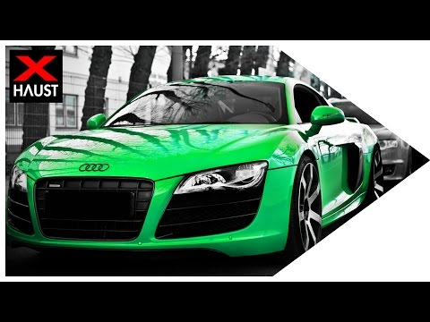 AUDI R8 V10 Exhaust Sound & S/RS Models  Sound, Launch Control and Fly by