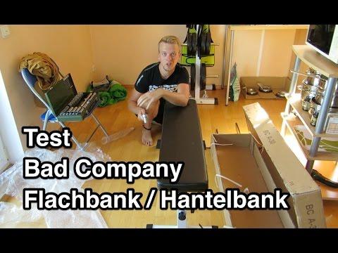 test bad company bca 30 flachbank hantelbank test. Black Bedroom Furniture Sets. Home Design Ideas