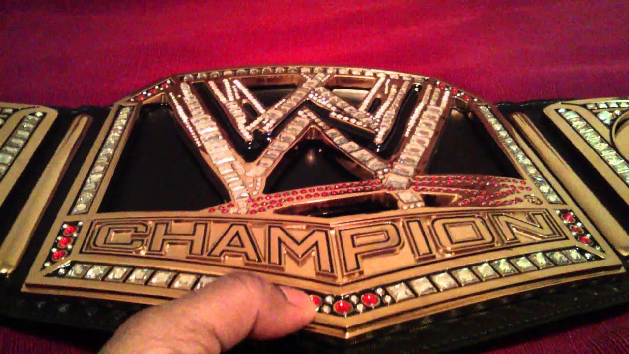 Wwe Championship Belt 2013 In Depth Video