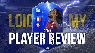 FIFA 19 - TOTS MOMENTS REMY (86) PLAYER REVIEW