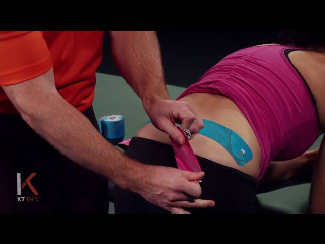 KT Tape - Kinesiology Taping Instructions for SI Joint