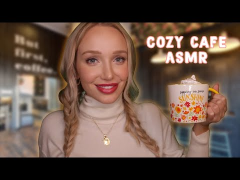 The Coziest Coffee Shop! (whispers + soft speaking, tracing, trigger words…) ASMR RP