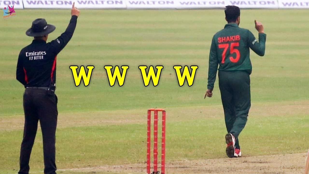 প্রথম ম্যাচেই বাজিমাত! সাকিবের ঘূর্ণিঝড়ে বিধ্বস্ত উইন্ডিজ। Shakib Al Hasan 4 Wickets Vs West Indies