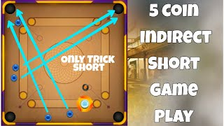 Carrom Pool / Only Trick Short / Indirect Game Play / Gaming Nazim/ Carrom desi Pool/ screenshot 4