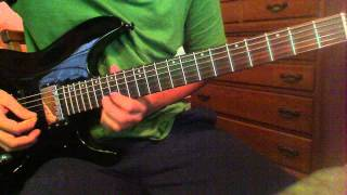 Justice League Unlimited Theme Song Guitar Cover