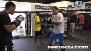 "Mauricio ""Shogun"" Rua Training for UFC 134 Rio"