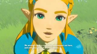 Breath of the Wild - Silent Princess Cutscene (Recovered Memory 9)