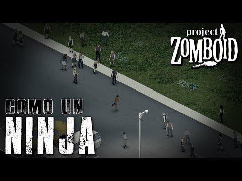 "PROJECT ZOMBOID [Build 39.60] - #07 ""Como un ninja"" - Gameplay Español"