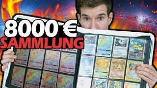 Meine 8000 € Pokémon Karten Sammlung! 😨