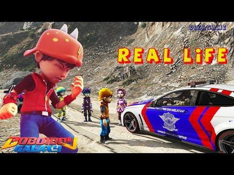 Mantap!! BoBoiBoy Galaxy Keren - GTA 5 Funny Indonesia | Kocak nan Lucu