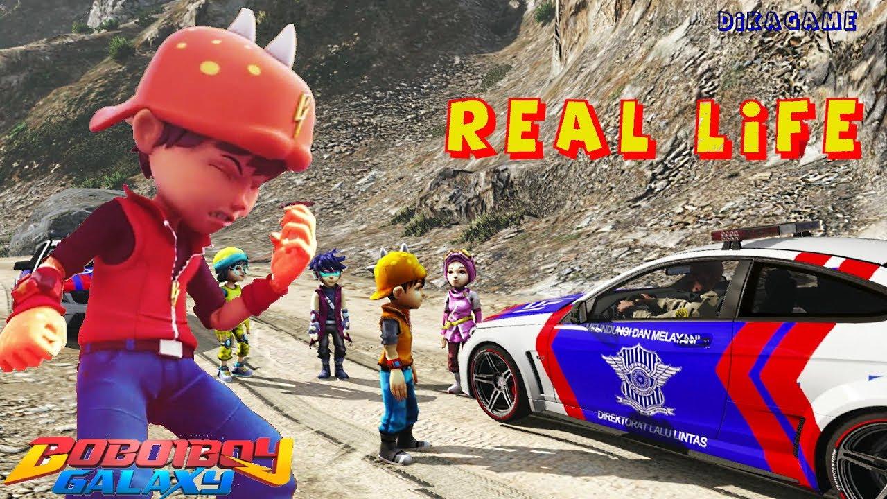Boboiboy Galaxy Keren Gta  Funny Indonesia Kocak Nan Lucu