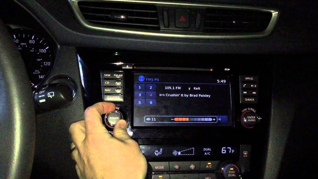 2014 Nissan Rogue Radio Issues