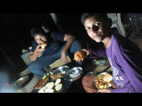 Village food factory /Pav Bhaji Cooking by my Family in my village / village cooking