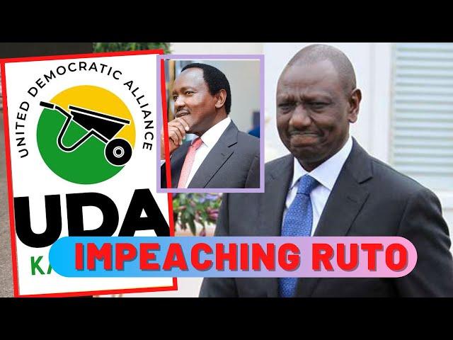 Behind The Scenes Schemes to IMPEACH William Ruto | Mudavadi Mudavadu and Kalonzo Musyoka ROLES