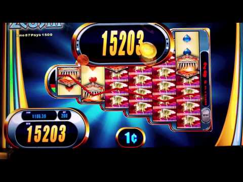 WMS - Zeus III Slot - *Awesome Line Hit* - SugarHouse Casino - Philadelphia, PA