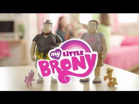 My Little Brony Toy Commercial