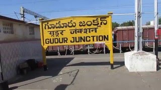 12842 Coromandal Super Fast express departing from Gudur Junction!