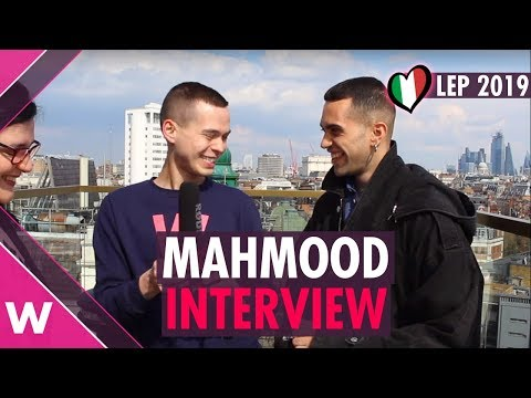 Mahmood (Italy 2019) | London Eurovision Party INTERVIEW