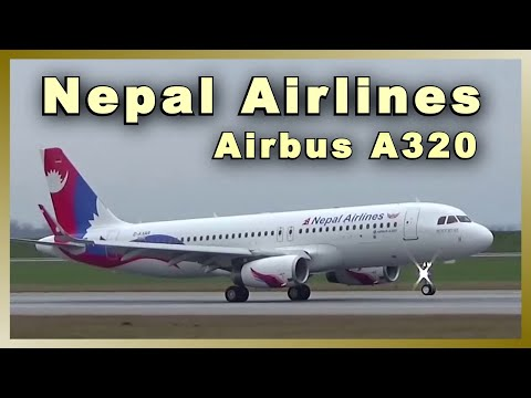 NEPAL AIRLINES Airbus A320 | Landing @ Airbus plant Hamburg
