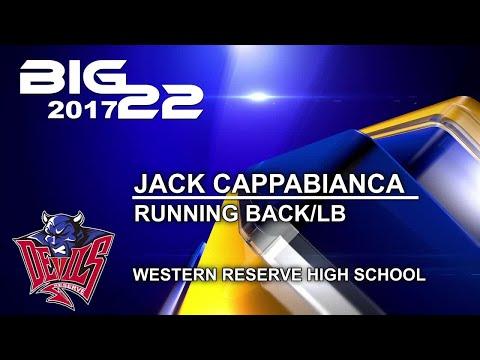 2017 Big 22: Jack Cappabianca, Western Reserve