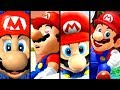 Super Mario Evolution of INTROS 1996-2017 (Odyssey to N64)