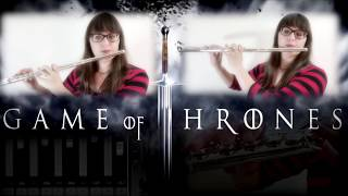 Game Of Thrones Theme - Dueling Flutes! ( Epic Orchestral Cover )