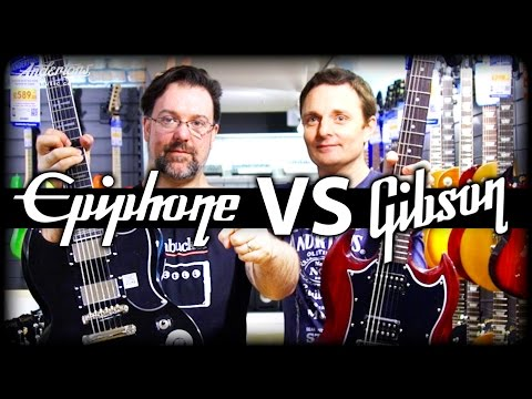 The SG Guitar Challenge - Top of the Line Epiphone vs Budget Gibson