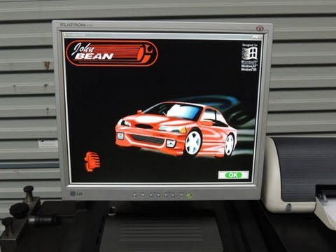 John Bean V8 Wheel Aligner Menus
